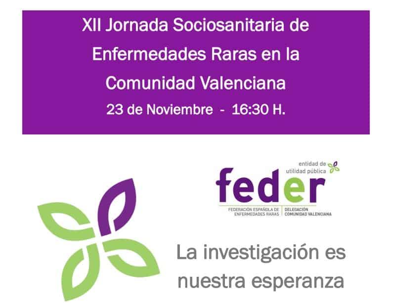 XII JORNADA SOCIOSANITARIA DE ENFERMEDADES RARAS