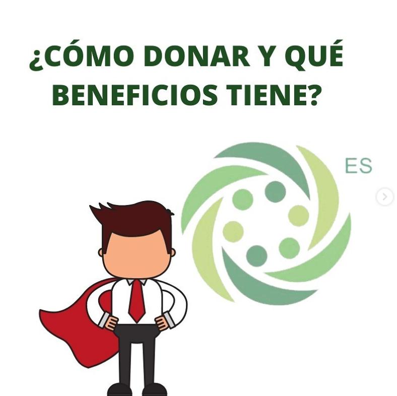Como donar y que beneficios tiene